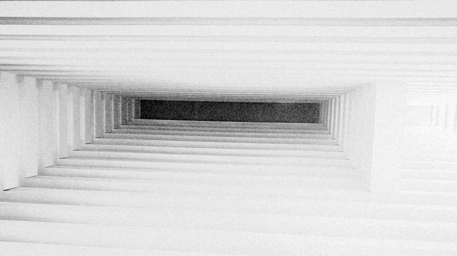 Architecture Built Structure Indoors  Blackandwhite Photography Ceiling Light VOID Deep White Tranquility Vacations No People Day Close-up