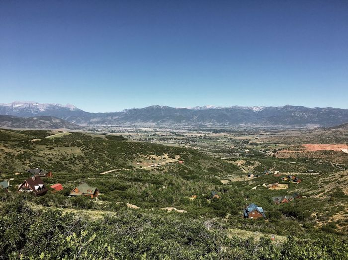 hill running. Wasatch Mountains Utah Wasatch Back Sky Plant Nature Land Landscape Clear Sky Environment