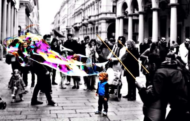 Via Indipendenza, Bologna (IT) Impossible Moments