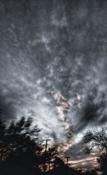 these are scary times... Evening Sky Blackandwhite Photography Gothic Beauty  Cloudscape Shapes And Forms Windows Of My World Cumulus Cloud Dramatic Sky Atmospheric Mood