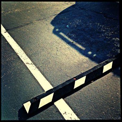 Hipstamatic Parking Light And Shadow Kentucky