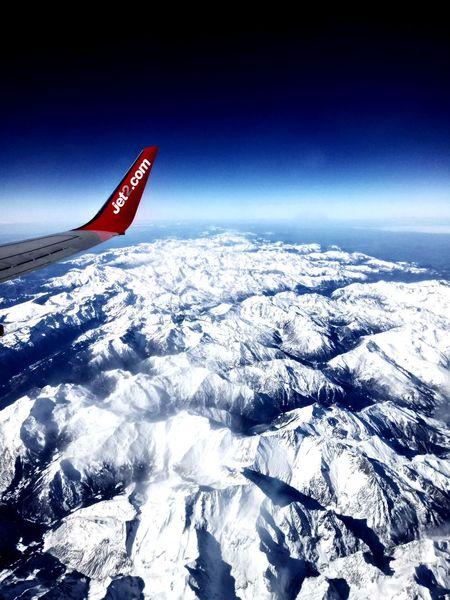 Jet2 Pyranees Snow ❄ Cold Temperature Winter Frozen Shades Of Winter