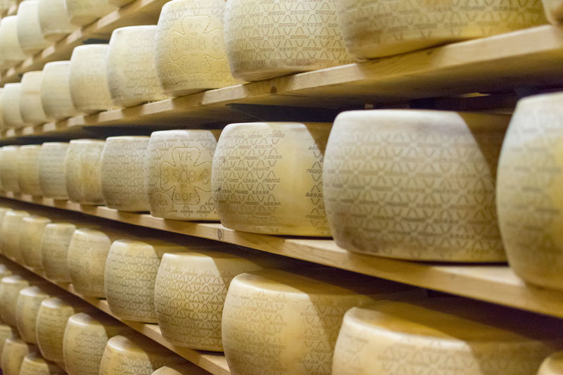 Cheese Grana Padano Aging Aging Like Fine Wine Bella Italia Cheese Dop Food Grana Padano Italy
