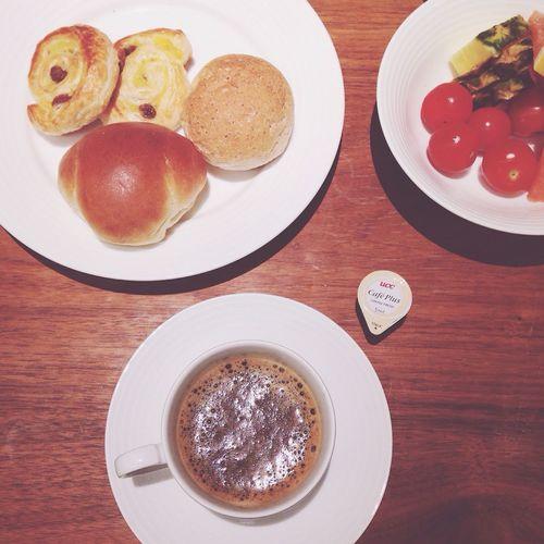 내사랑 조식? Food Food Porn Breakfast Enjoying A Meal Coffee Coffee Time Hiroshima 広島