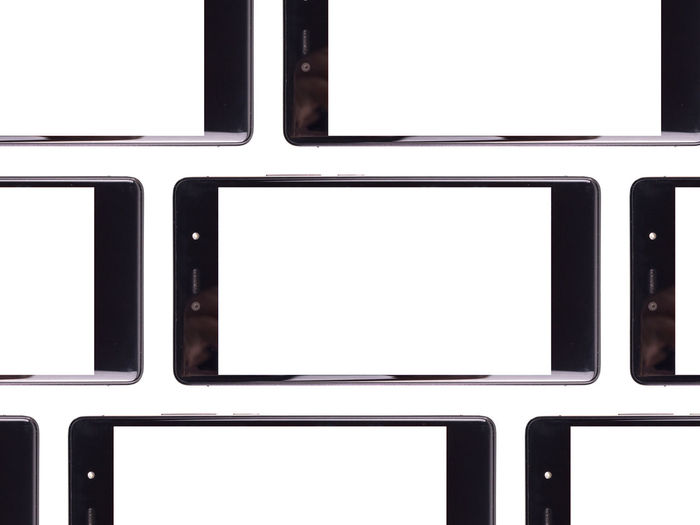Communicate Communicating  Communication Device Screen Display Electronics Industry Frame Hi-tech Internet Modern No People Sharing  Sharing Ideas Sharing Photos Smartphone Frame Smatphone Tech Technology Touch Screen Viral White Background White Frame White Framed