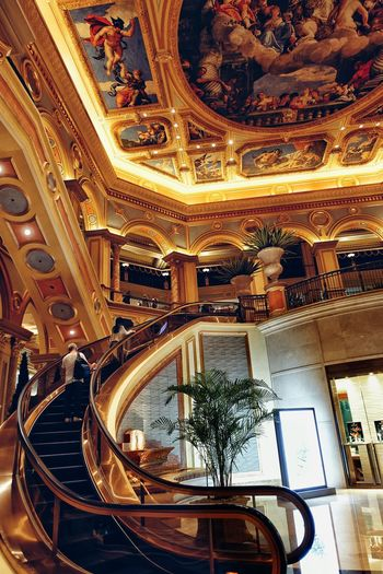 Galaxy Macau 43 Golden Moments Latepost Staircase Gold Rx100m3 On The Way Fine Art Photography Showcase July