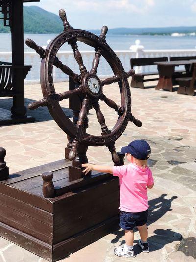 Water Sea Child