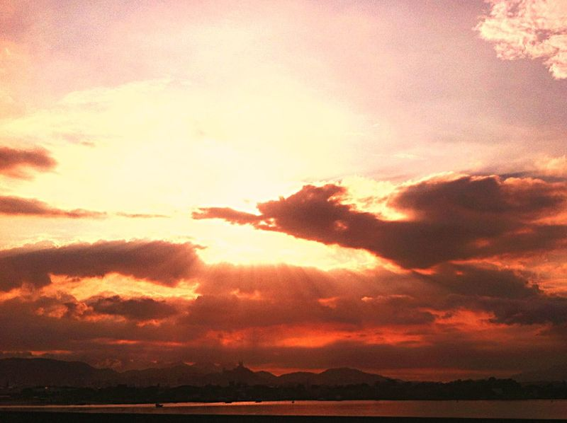 Sol de passagem. Taking Pictures Taking Photos Sunsetlover