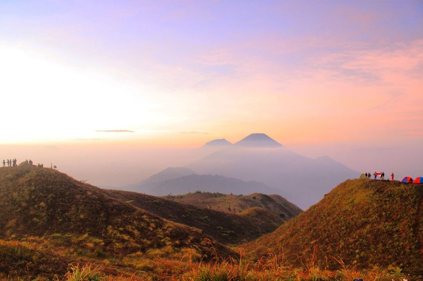 Wake up early and you can see how God act EyeEm Selects Mountain Landscape Outdoors Travel Destinations Beauty In Nature Nature Sunrise Morning Sky Morning Light Morning Landscape_photography Wonderfulindonesia Explorecentraljava Praumountain Diengplateau Photography Takenbyme Lost In The Landscape