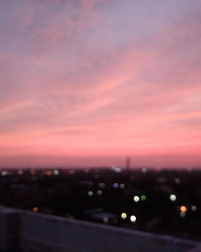 Calmness Sunset Dramatic Sky No People Pink Color Night Illuminated Dusk Cloud - Sky Scenics Sky Outdoors Purple Nature Heat - Temperature Ethereal Tranquility Landscape Beauty In Nature City Moon First Eyeem Photo