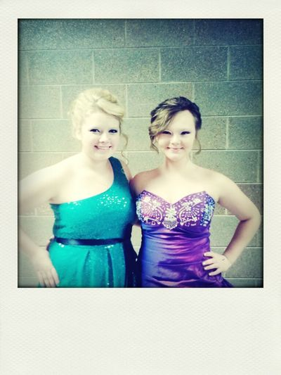 formal dance~ kenzie and I