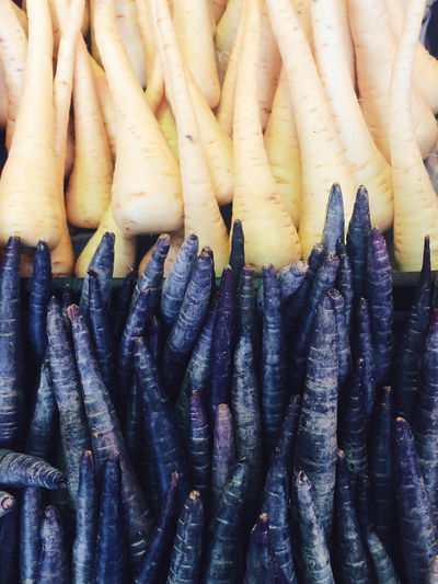 Vegetables Purple Carrots Fresh Market Parsnip Market Stall Food