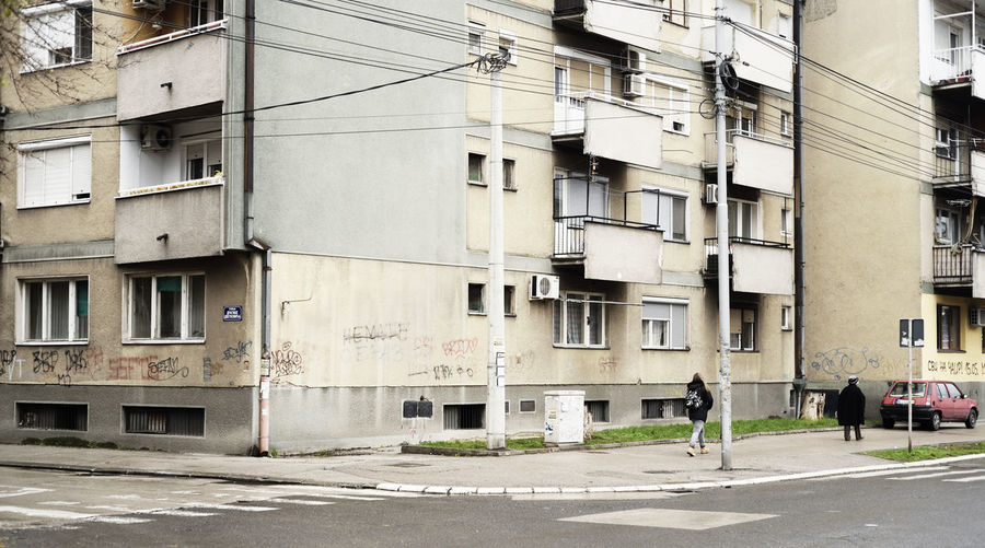 A road in the center of the city of Nis (Serbia) Cityscape Architecture Building Exterior Built Structure Building City Road Residential District Street Walking Incidental People Men Transportation Footpath Outdoors People Window Serbia Niš Car Road Streetphotography East Europe Yugoslavia EyeEm Best Shots