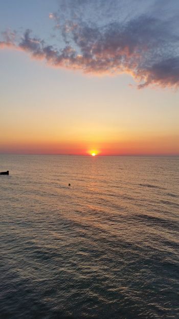 Sunset Beachphotography Graal-Müritz Evening