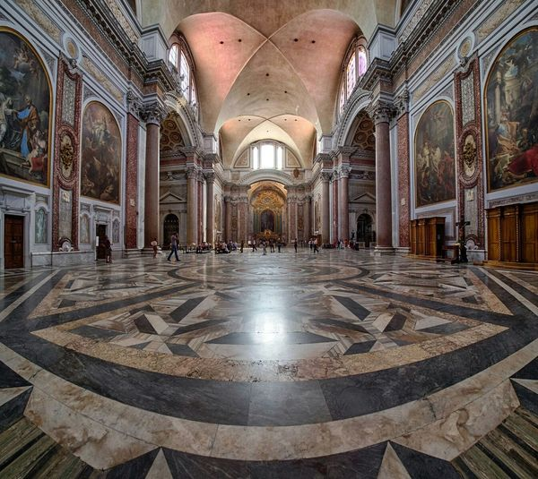 Rome Italy Panini Church Cathedral