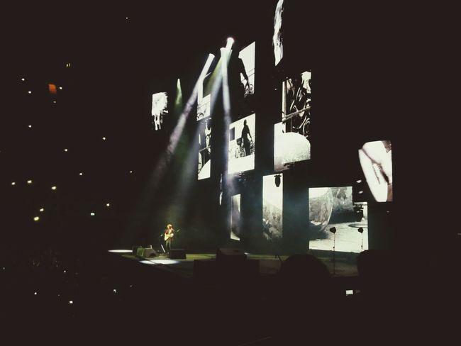 Ed Sheeran at the O2 Ed Sheeran Music Nexus 5