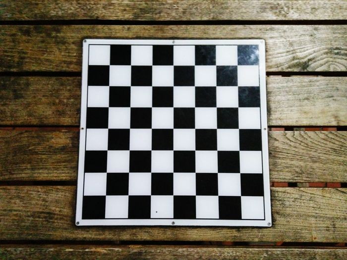 Looks like a QR code hehe :p Chessboard Chess Table Tabletop Wooden Texture Wood