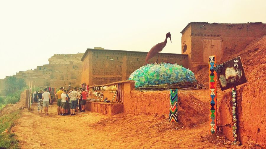 The Street Photographer - 2017 EyeEm Awards Travel Destinations Adults Only EyeEmNewHere Morocco Stack Ancient Civilization Large Group Of Objects Old Ruin Recyclingart Recycled Bottle Rack Recycling