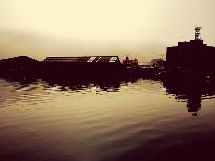 潮祭り 小樽 海 朝もや 湿度の高い日曜日