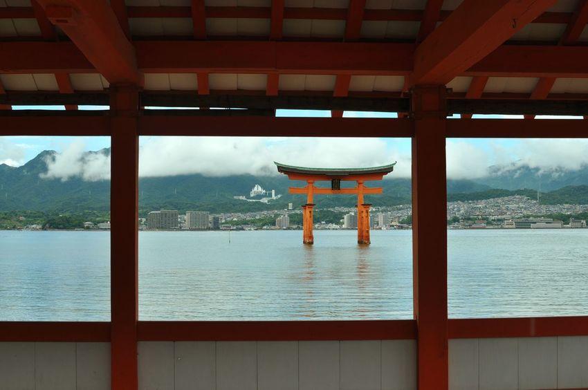 平家物語ワールド(*^^*) Taking Photos Window View Sea View Historical Building Japan EyeEm Best Shots