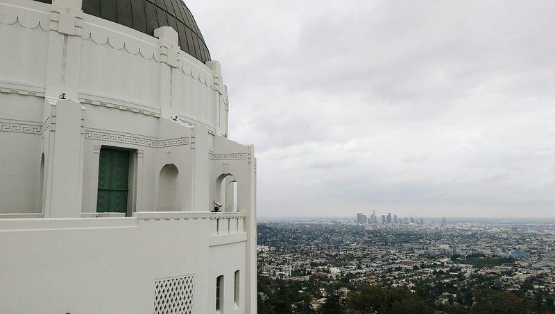 Bleak World Downtown Los Angeles Urban Sprawl Urban Landscape Aerial Shot