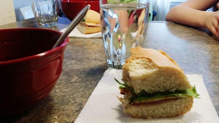 Chilicookoff Lunch Yummyinmytummy With My Ham Sandwich