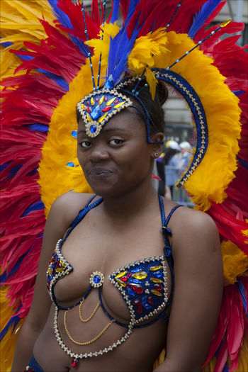Dance Parade NYC 2017 Dance Parade Dance Parade NYC 2017 Headdress Trinidadian Dancer