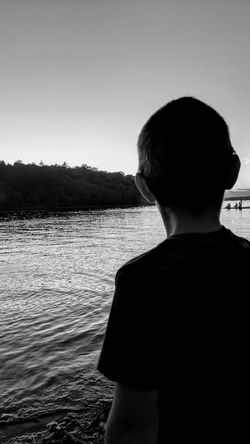 Dreaming of the big fish Independenceday Boy Black & White Blackandwhite Photography Camp Life EyeEm Selects Breathing Space Followme