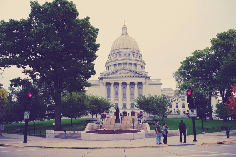 Madison Winsconsin state house WinsconsinMadison Madison Wisconsin State House Government First Eyeem Photo