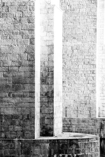 AgfaPhoto APX 100 (new) Architecture Blackandwhite Canon EOS 50E EyeEm Best Shots - Black + White Kodak D-76 Monochrome Stone Wall