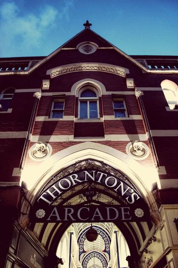 Leeds Arcade Shopping ♡ Check This Out Thortons Arcade Night Nightphotography