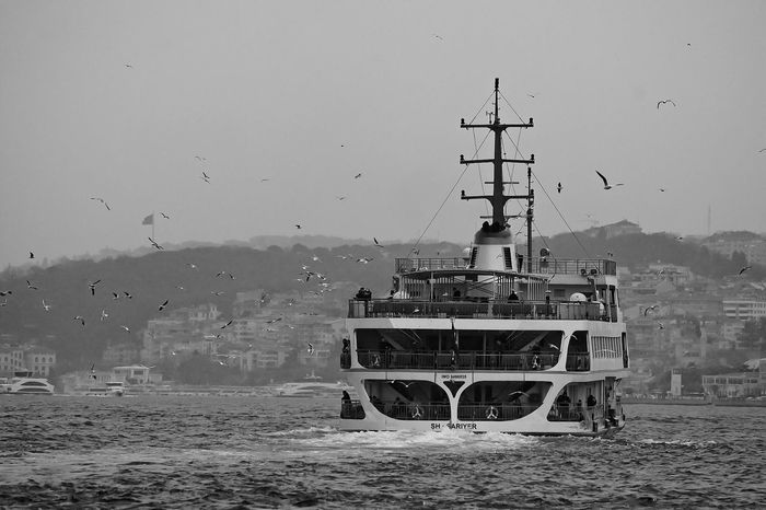 Outdoors Built Structure Nautical Vessel Sky Day Nature Architecture No People Antenna - Aerial Water Mountain Close-up Blackandwhite Blackandwhite Photography Black And White Photography Monochrome Monochrome Photography Amazing View Free Istanbul Istanbul Turkey Istanbul City Istanbullovers Istanbul - Bosphorus Vatan Welcome To Black