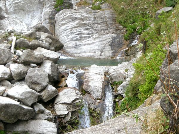 Day Nature Rock - Object Tranquility Waterfalls💦 Scenics Tranquil Scene Beauty In Nature Mountain Dharamshala , Himachal Pradesh, India