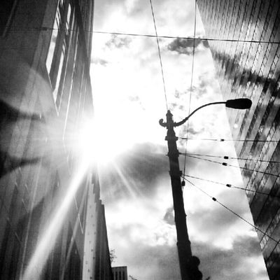 Fmsphotoaday Day 10 Black and White Instafy Igaddict Instagram instadaily instadaily instalove iloveseattle clouds cloudporn sun sky skyporn buildings picoftheday photoaday projectlookup bright