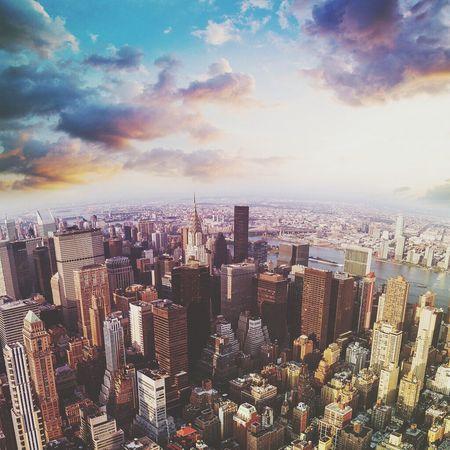 Landscape New York City Swag