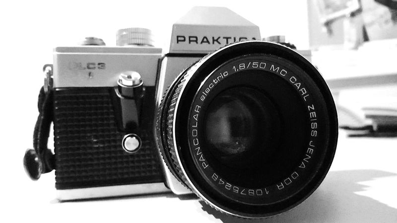 Praktica Old Photo Oldcamera Old Camera Blackandwhite Black & White Blackandwhite Photography Poland Check This Out Amateur Amateurphotographer  Amateurphotography Bored Trying New Things