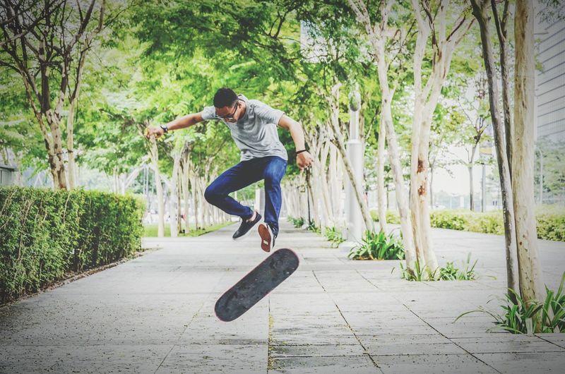 Make Magic Happen Singapore Skateboarding PracticeMakesPerfect