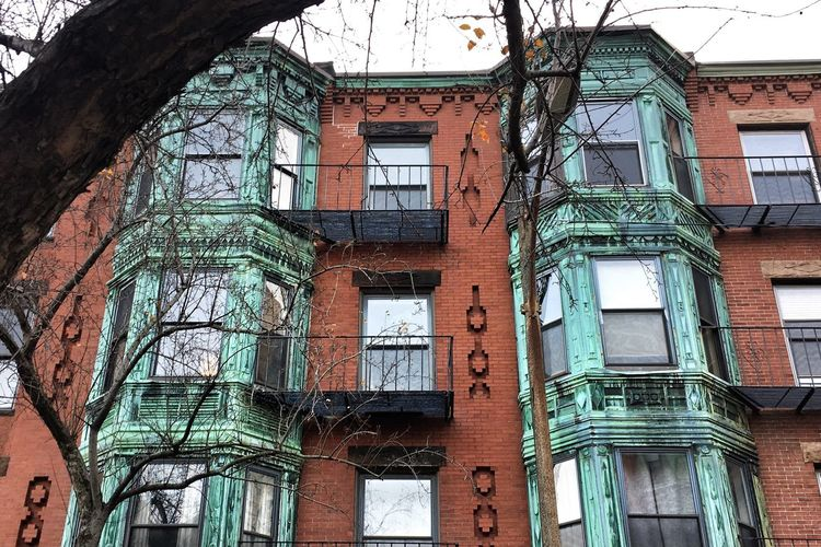 Residential Building How Materials Alter Copper Building Living In Boston Boston Architecture