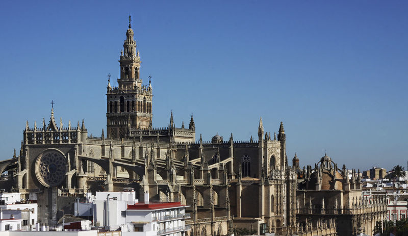 Architecture Building Exterior Built Structure City Cityscape Clear Sky Day Giralda Giralda Cathedral Giralda Tower History No People Outdoors Place Of Worship Religion Sevilla Sevilla #andalucía Sevilla Andalucía Sevilla Meetup Sevilla Spain Sevilla, España Sevillahoy Sky Spirituality Travel Destinations