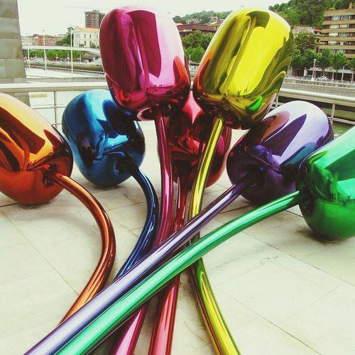 Art Jeff Koons Traveling Guggenheim Museum,Bilbao
