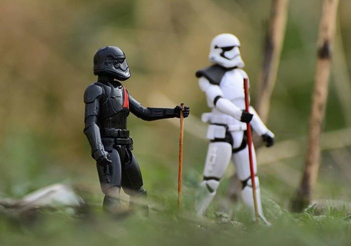 "➡MEANWHILE, OFF ON SOME DISTANT PLANET.. ""So I've been meaning to talk to you about something.."" Toyonlocation Toy_nerds Stormtrooper Starwars TheForceAwakens Toypictures Toyphotography Toyboners Toycrewbuddies Teamnikon Justanothertoygroup Toygroup_alliance Toystagram Toyart Toypictures Arizona Collectable Toyjuice Phxtoypics Toptoyphotos Toyoutsiders"