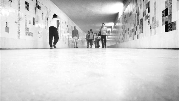 The Train Tunel... EyeEm Black&white! Supernormal Love To Take Photos :)  Taking Photos