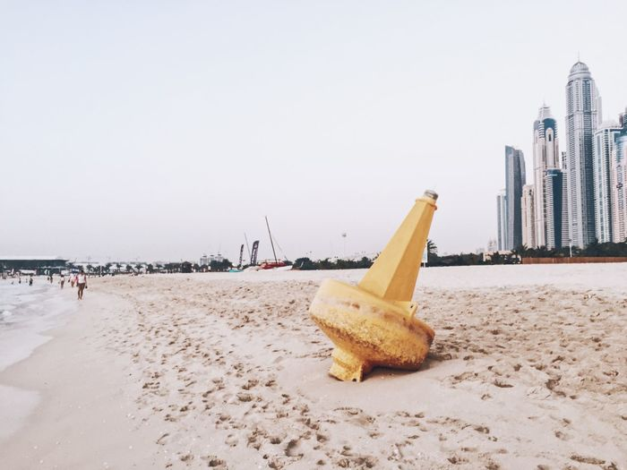 Architecture Beach Building Exterior Built Structure Clear Sky Copy Space Day Food Food And Drink Incidental People Land Nature Outdoors Sand Sea Sky Water
