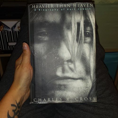 Excited to read this Kurtcobain Biography