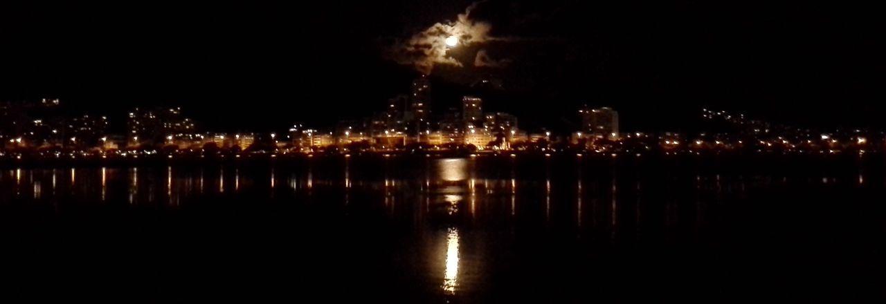 Rio De Janeiro Lagoa Rodrigo De Freitas Light Night City Tranquility Electric Light 🇧🇷 Cloud Brasil ♥ Samsung Beam Rodrigo De Freitas Lagoon