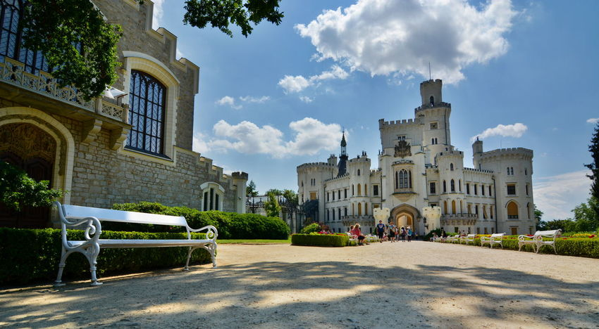 Hluboká Castle Architecture Building Building Exterior Castle Castle View  Castles Ceske Budejovice Czech Czech Republic Europe Façade Historical Building Historical Monuments Hlubokanadvltavou Hluboká Nad Vltavou • Zámek Outdoors Summer Tourism Travel Travel Destinations Travel Photography