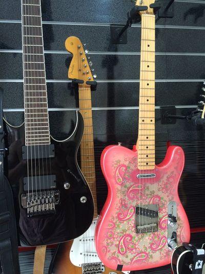 Fender Telecaster Ibanez Guitars Paisley My Guitars