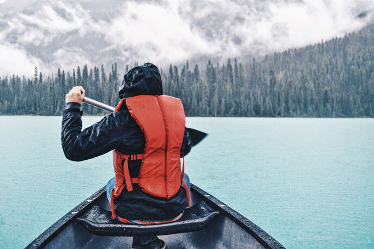 The Great Outdoors With Adobe Canada aBoat tPaddle eRowing gWater rEmerald dLake eMe eView wBeautiful lMountains sForest tNature eRaining gEyeEm mEyeEm Best Shots sEye4photography  yEyeEmBestPics sEyeEm Nature Lover rEyeEm Gallery yJustMe eEscape eFresh On Eyeem  m The Following