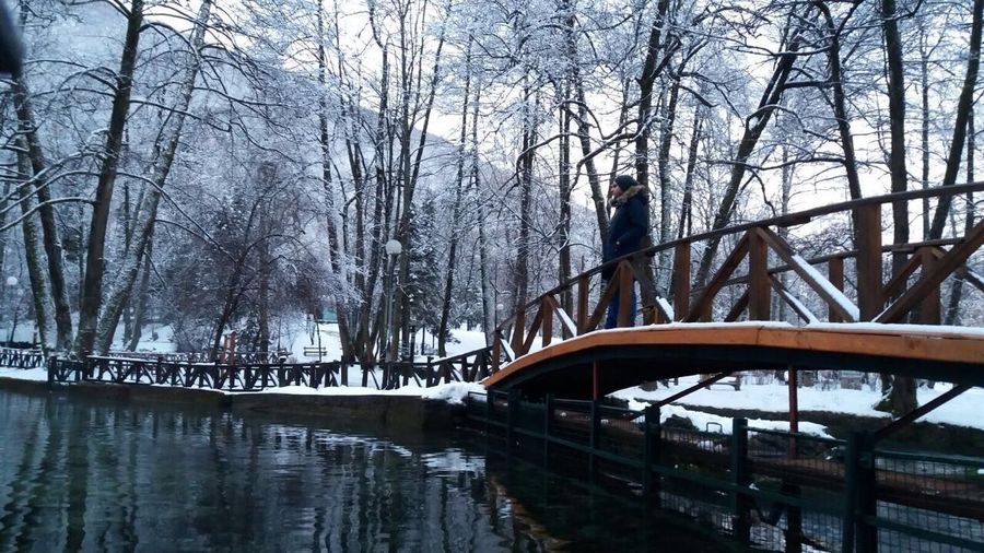 EyeEm Best Shots Sarajevo Snow Cold Bridge - Man Made Structure Tree Winter Nature Cold Temperature Dream Life