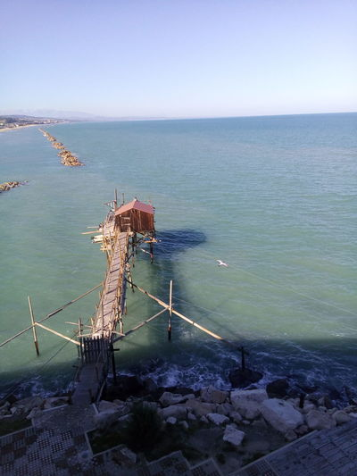Sea Sky Water Nature Puglia Beauty In Nature Wave Outdoors Day No People Beauty In Nature Termoli